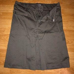 Zara basic gray skirt